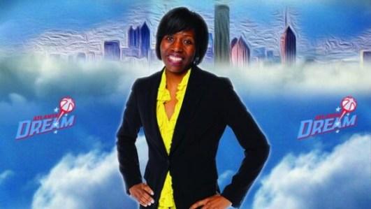 Angela Taylor. Image: Atlanta Dream.