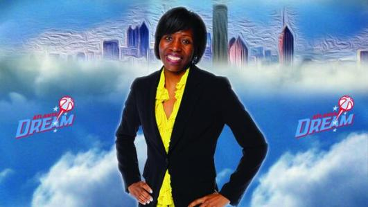 Angela Taylor. Image: Atlanta Dream.