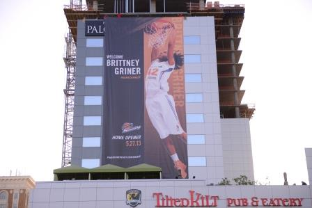 Six years of block parties for Brittney Griner, shattering record after record
