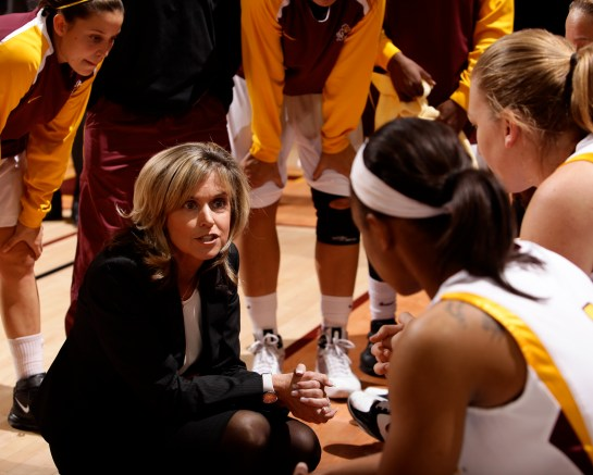Arizona State head coach Charli Turner Thorne.
