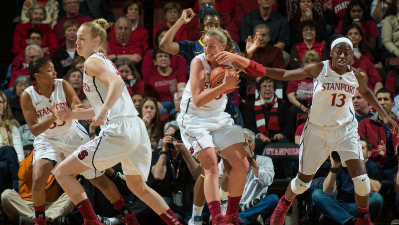 No. 4 Stanford survives epic comeback from No. 21 Cal for 70-64 victory in Battle of the Bay opener