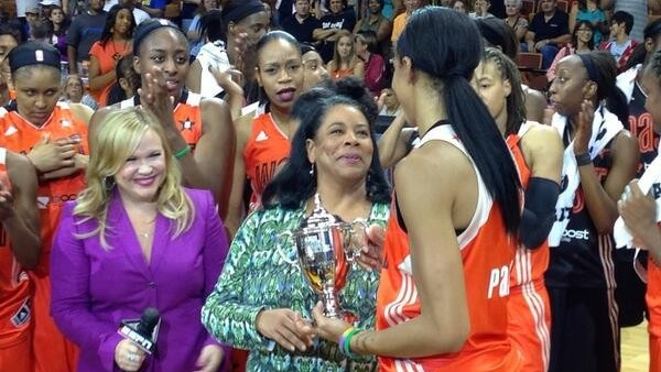 Candace Parker and her Sparks teammates lead West to All-Star win, 102-98
