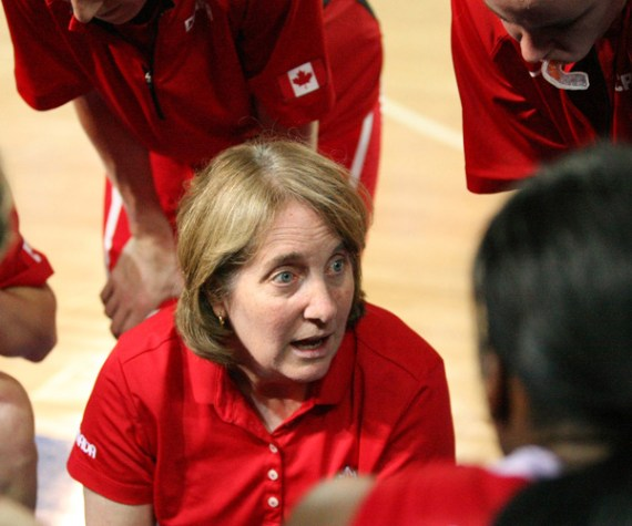 Allison McNeill led the Canadian women's senior national team for 11 years before stepping down.