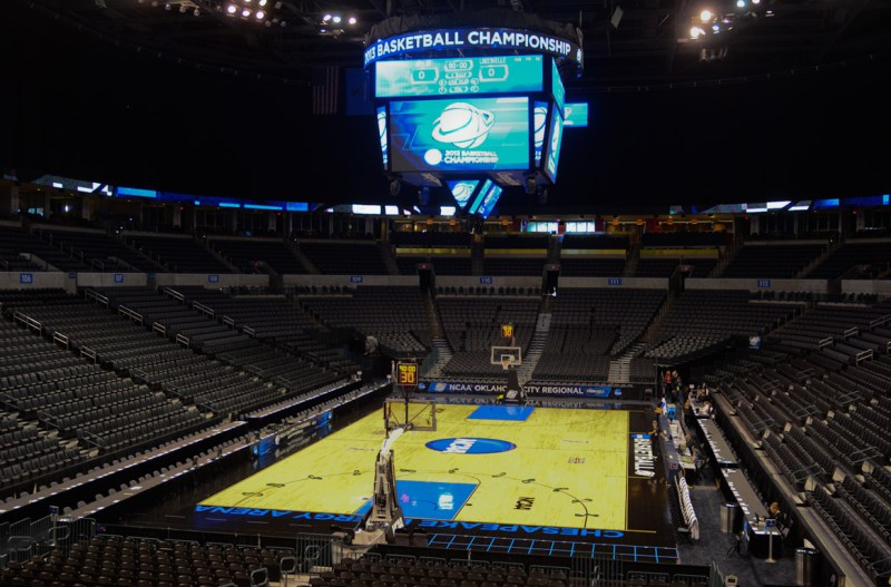 Chesapeake Energy Arena, Oklahoma City. Photo: Robert Franklin, all rights reserved.
