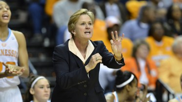 Tennessee head coach Holly Warlick: Photo: Tennessee Athletics.