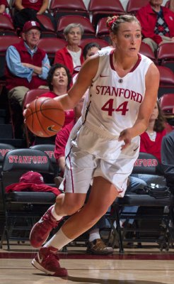 Stanford's Joslyn Tinkle. Photo: Norbert Von Der Groeben/isiPhoto