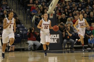Taelor Karr. Photo: Gonzaga Athletics/Torrey Vail.