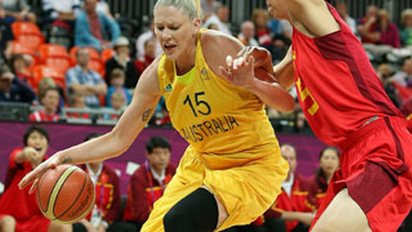 Lauren Jackson. Photo: Basketball Australia.