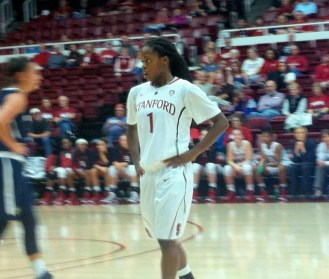 Stanford sophomore guard Lili Thompson.