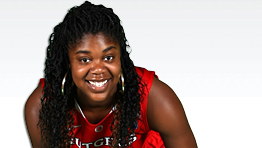 Monique Oliver rises to the occassion in leading Rutgers' resurgence