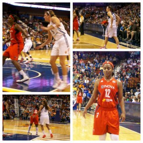 June 7, 2013. Washington Mystics at Connecticut Sun.