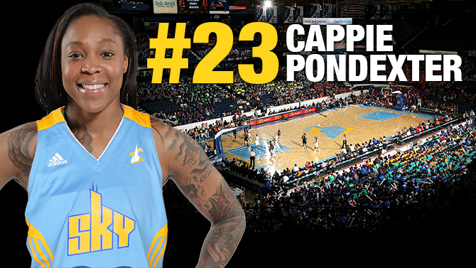 Chicago Sky acquire Cappie Pondexter from New York Liberty in exchange for Epiphanny Prince