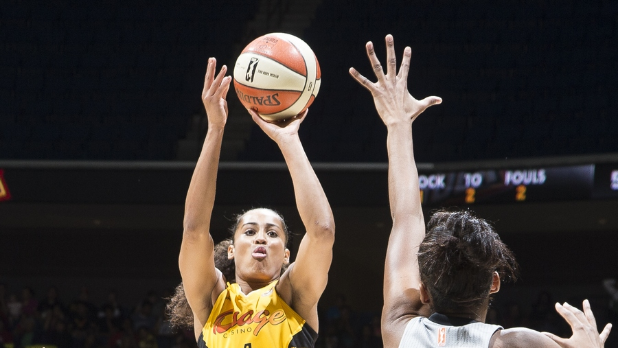 Tulsa Shock guard Skylar Diggins to miss the remainder of the 2015 WNBA season due to ACL tear