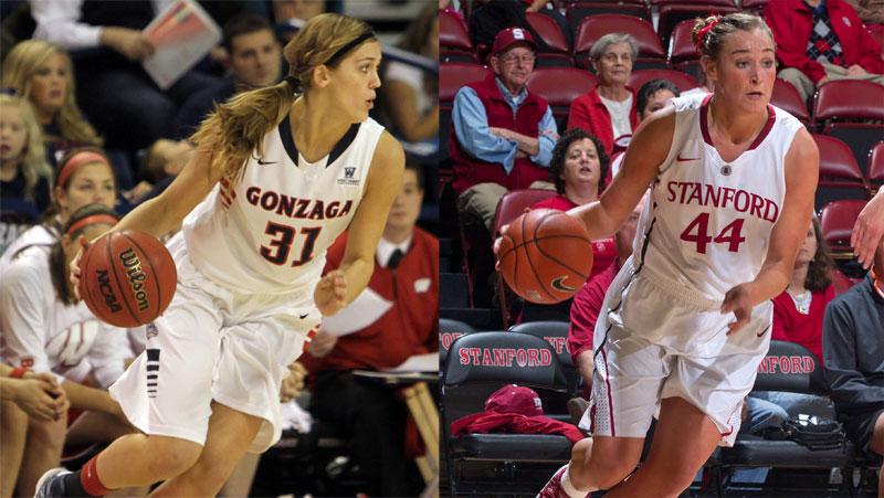 Dishin & Swishin 11/20/12 Podcast: Sisters Joslyn & Elle Tinkle face off as Stanford meets Gonzaga