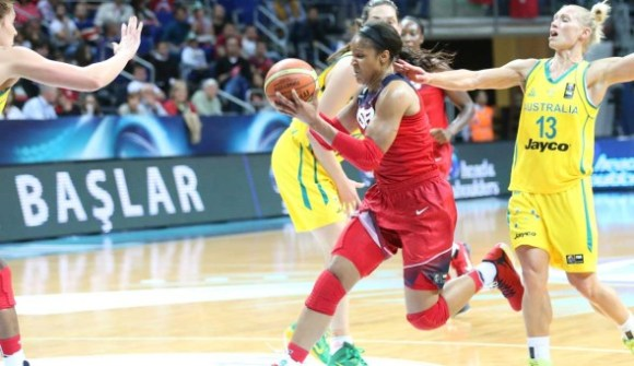 Maya Moore. Photo: USA Basketball.