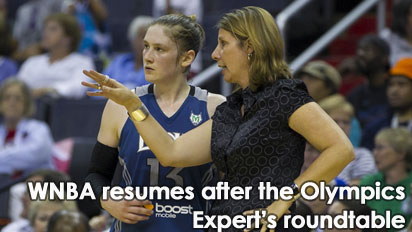 Dishin & Swishin 8/15/12 Podcast: A Roundtable recap of the Olympics and preview of the returning WNBA season