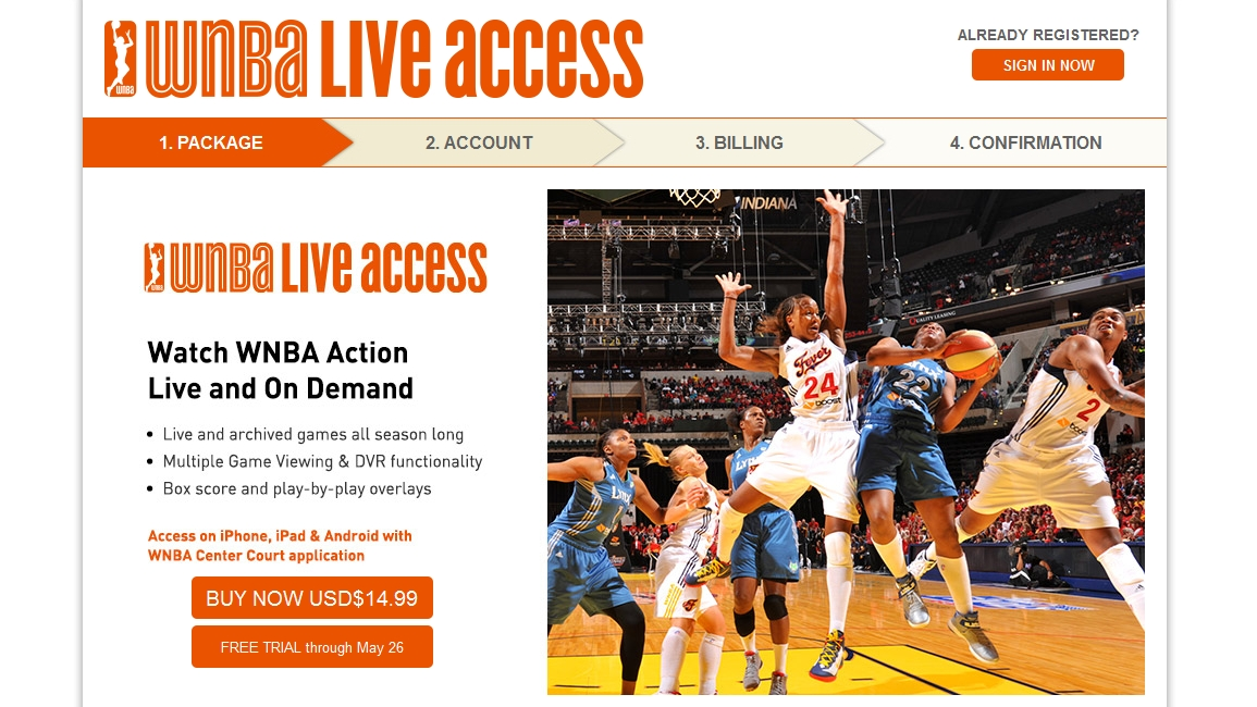 WNBA raises price of LiveAcess from $4.99 to $14.99