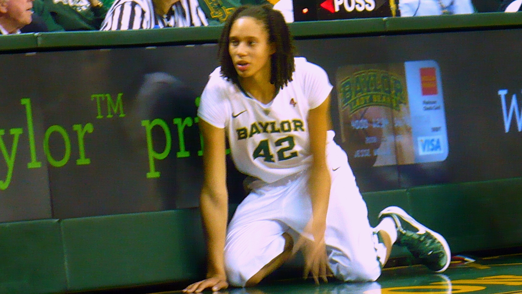 Griner leads No. 1 Baylor in rout of Kansas State, 76-41