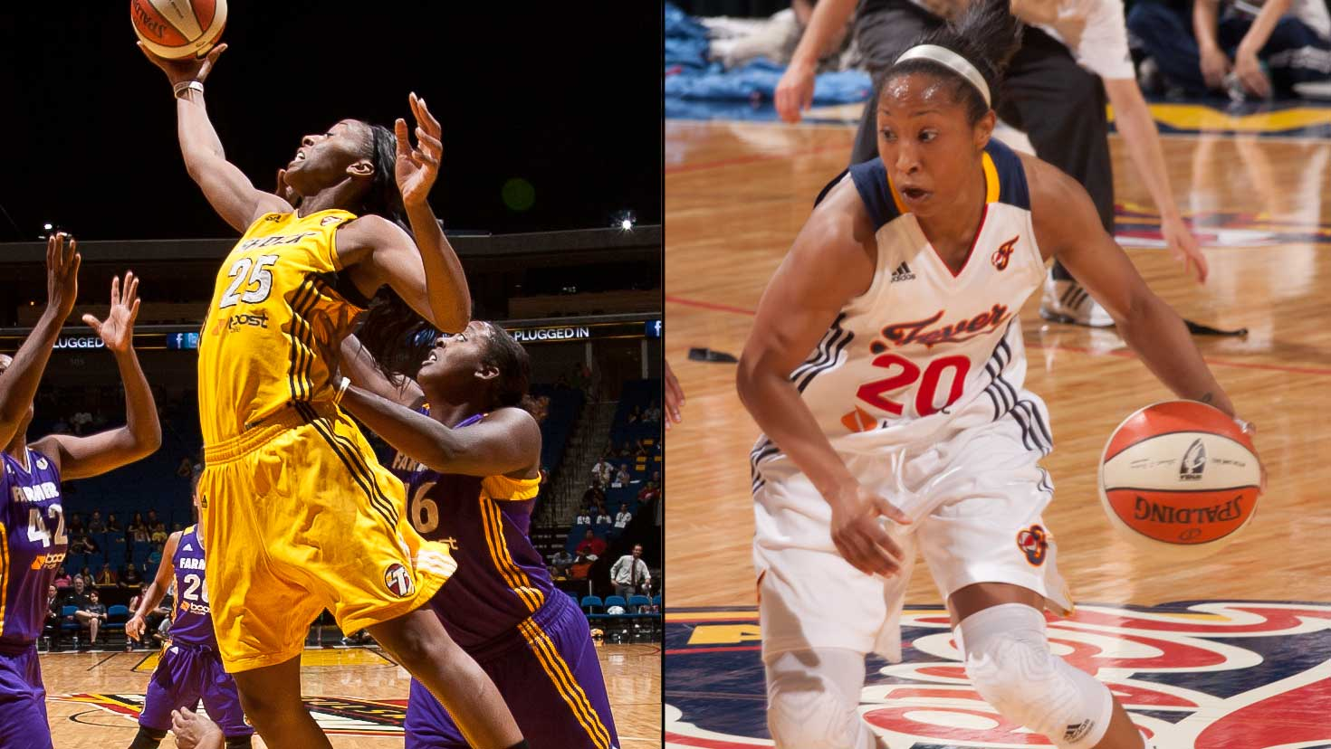 Dishin & Swishin 9/13/12 Podcast: Briann January leads the Fever into the playoffs, Glory Johnson leads the Shock by example