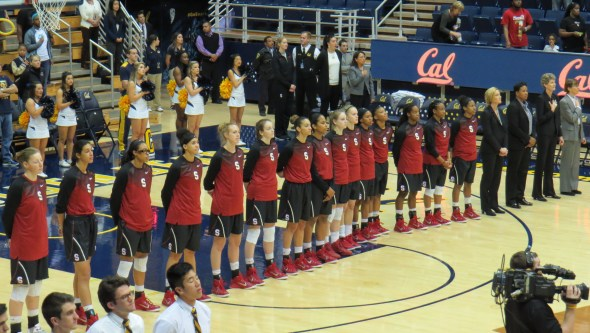 BERKELEY, Calif. (Feb. 18, 2015) - No. 18 Stanford beat Cal 59-47.
