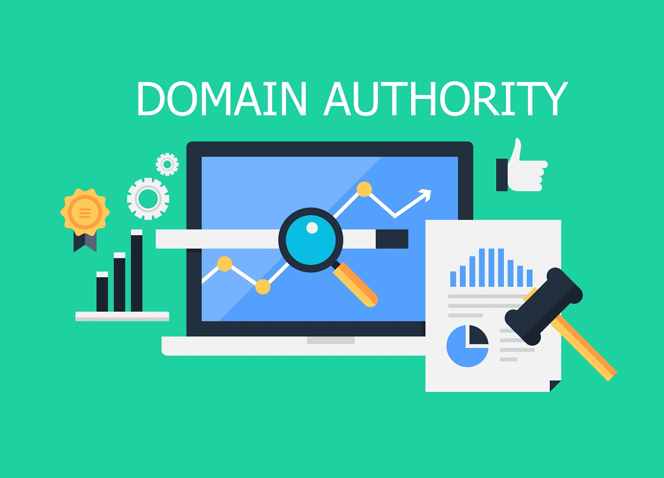 domain authority, backlinks, great website, content marketing