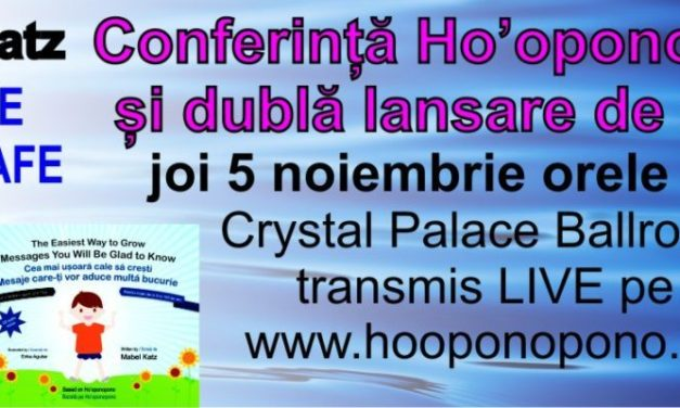 Conferință Ho'oponpono și dublă lansare de carte cu Mabel Katz – Eveniment Gratuit