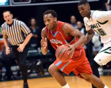 Delaware State's Amere May. Photo courtesy Delaware State Sports Information