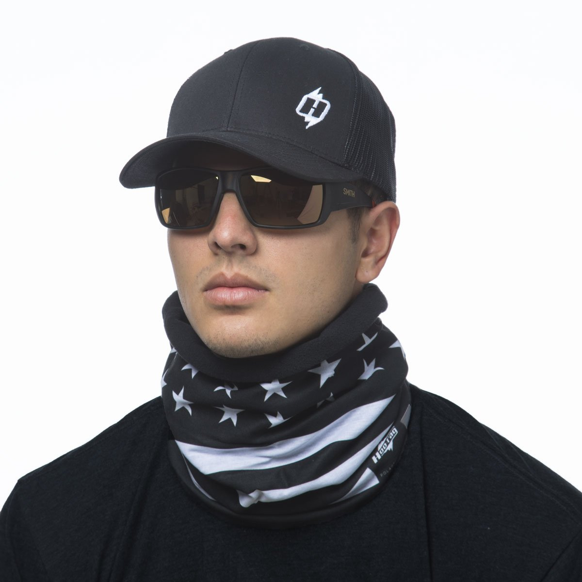 Flag Scarf Male American