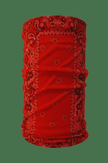 red hoo-rag design
