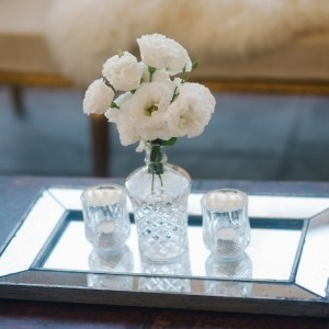 Silver Mirrored Tray