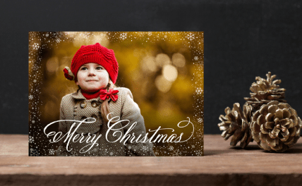Elegant Christmas Card