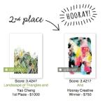 Winning Art Print