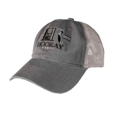 HR004 Olive Green Trucker Hat Hooray Ranch Online Store Kansas Hunting Experience 0001