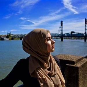 Hooriyah Collection's Venza -Desert premium chiffon hijab wrap