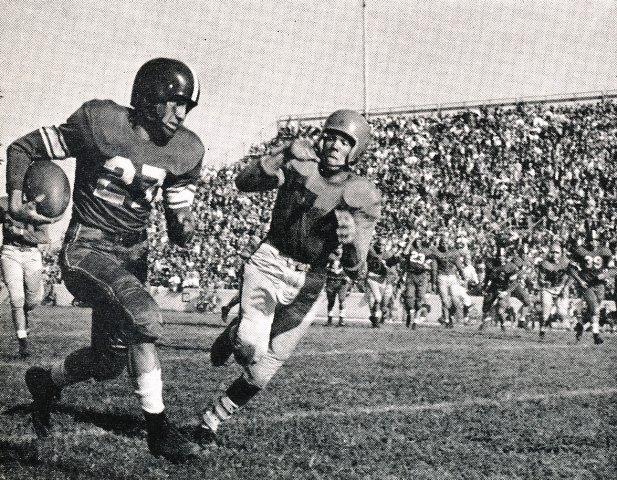Virginia Cavaliers Football 1950 Game Photos