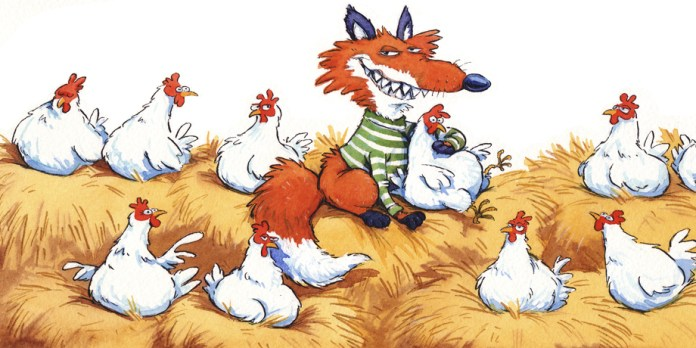 Image result for fox guarding the hen house