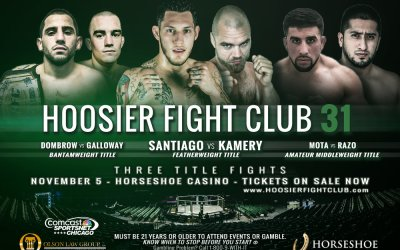 Hoosier Fight Club 31 (VOD)