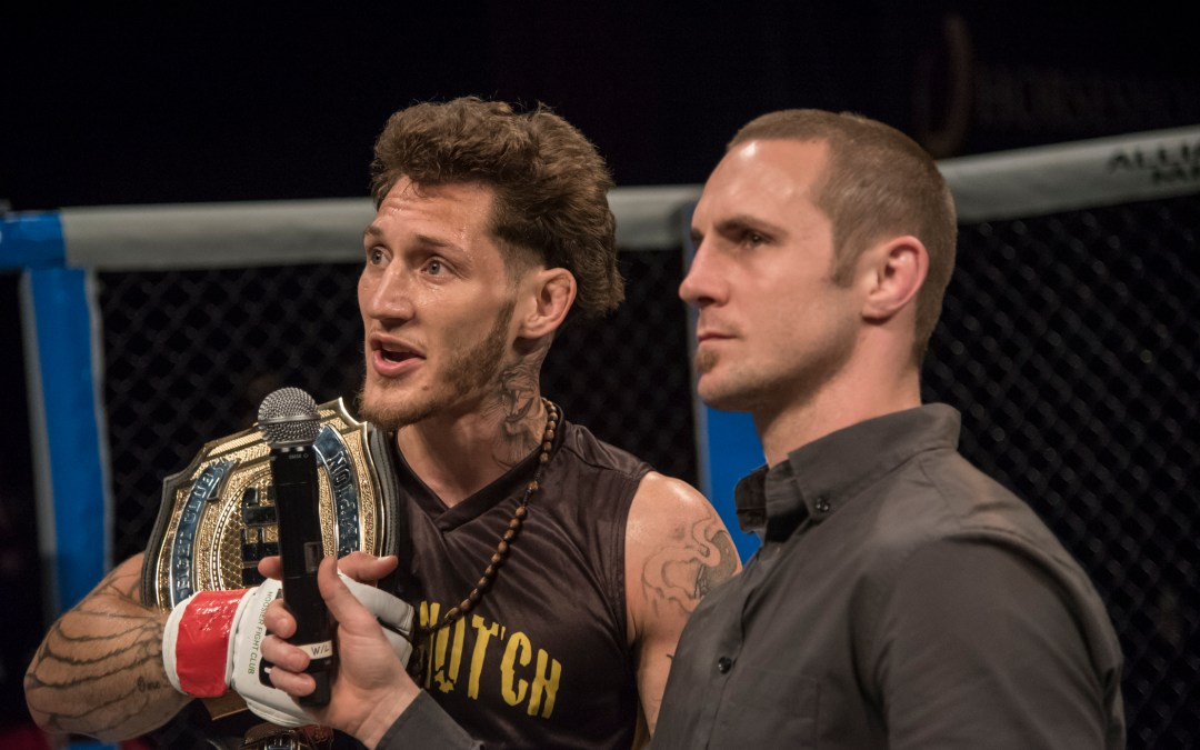 Current HFC Lightweight Champion Mike Santiago Set for Tomorrow's Bout at Dana White's Tuesday Night Contender Series