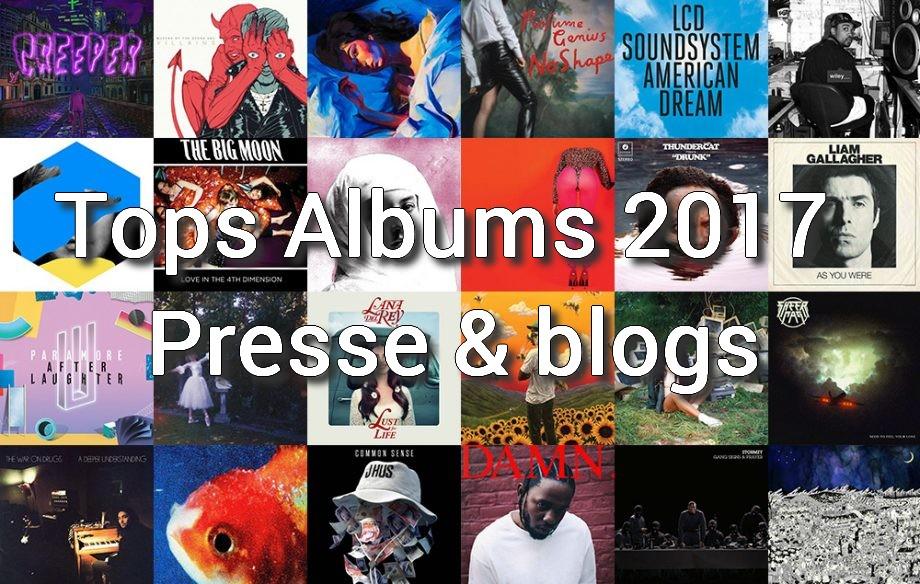 top albums presse 2017