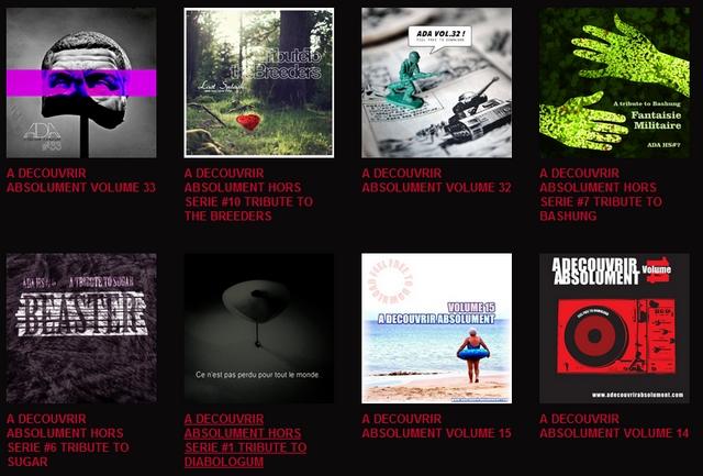 adabandcamp Toutes les compilations A DECOUVRIR ABSOLUMENT désormais disponibles sur Bandcamp