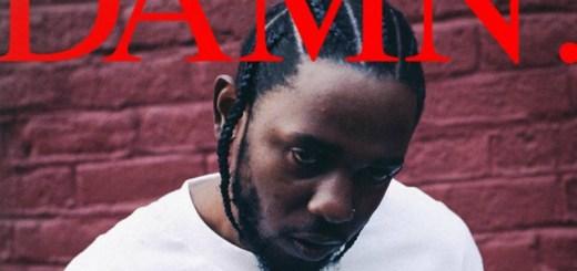 Kendrick Lamar damn cover 2017
