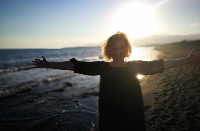 Gabriela Fink am Meer - Hope and Shine Blog