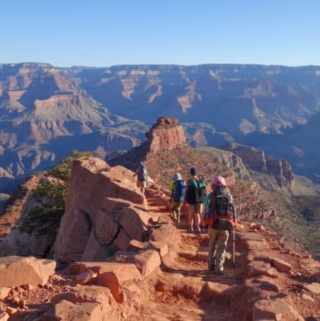 Backpacking the Grand Canyon–South Kaibab and Bright Angel Trails