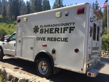 Dive rescue truck