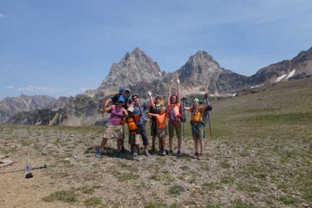 Crew on Hurricane Pass
