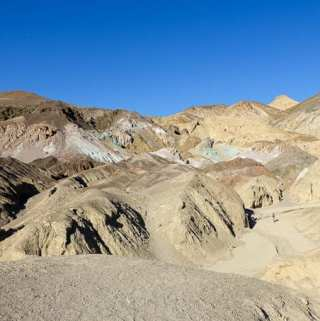 Mosaic Canyon, Badwater Basin, Devil's Golf Course and Artist's Drive in Death Valley National Park