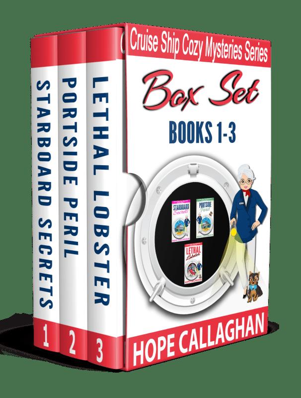 Cruise Ship Christian Cozy Mysteries Box Set (Books 1-3)