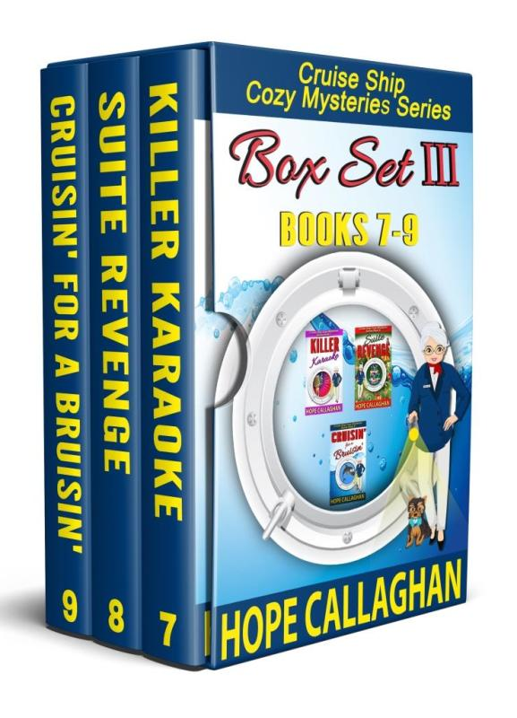 Cruise Ship Cozy Mysteries Box Set III (Books 7-9)