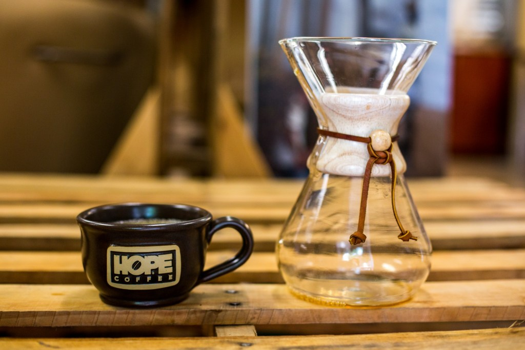 Chemex Brewing Method - Finished