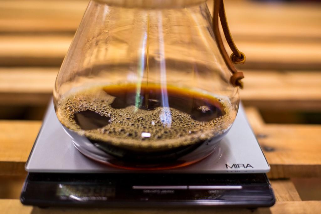 Chemex Brewing Method - Scale